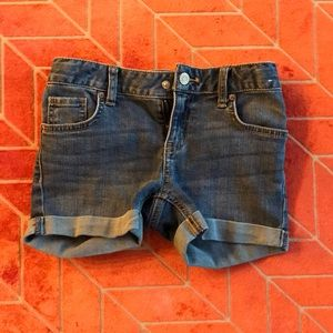 Girls Cat & Jack jean shorts